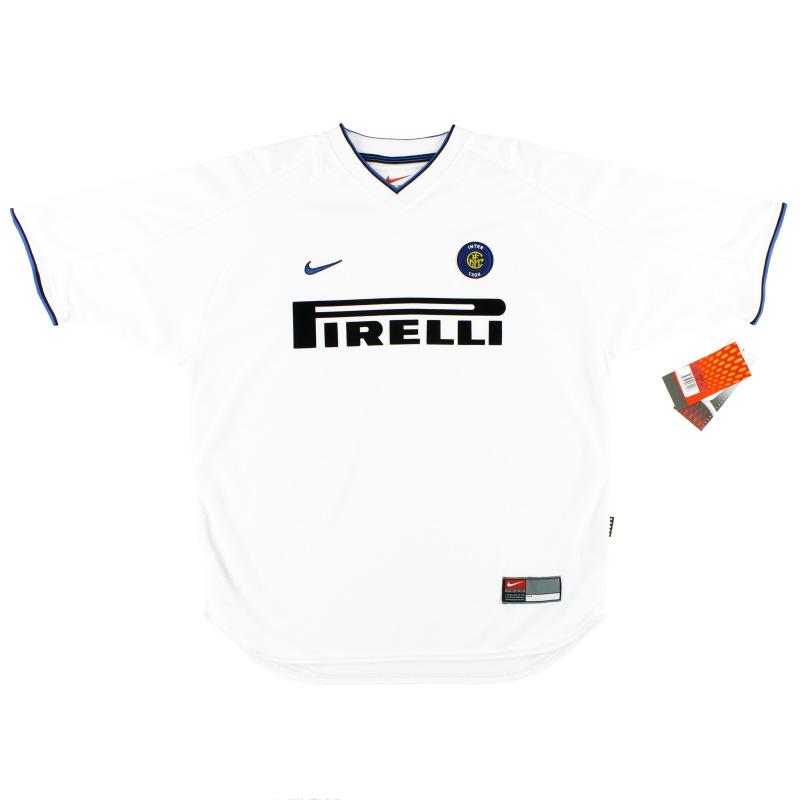 1999-00 Inter Milan Nike Away Shirt *w/tags* L - 162123