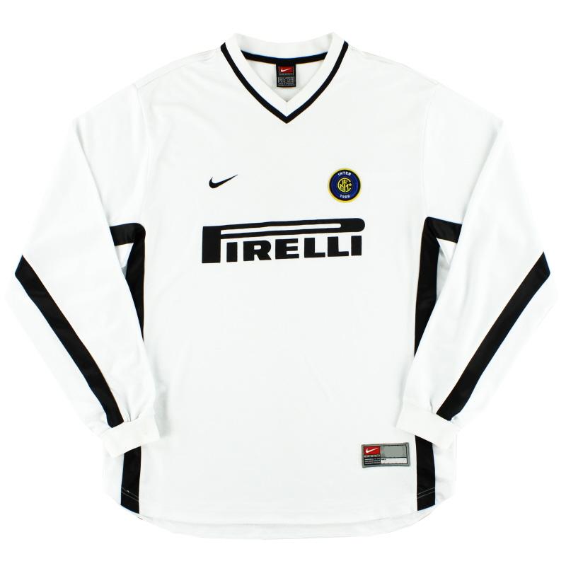 1999-00 Inter Milan Training Top XL