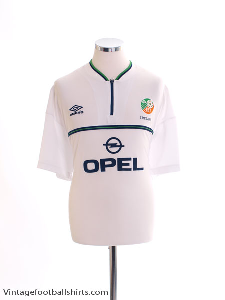 1999-00 Ireland Away Shirt XL