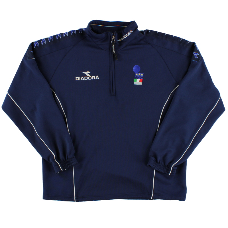 1999-00 Italy Diadora Referee Track Top L