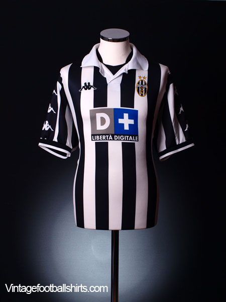 1999-00 Juventus Home Shirt M