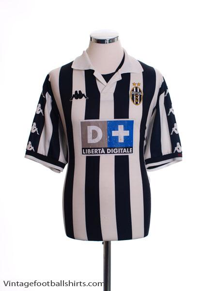 1999-00 Juventus Home Shirt *Mint* XL
