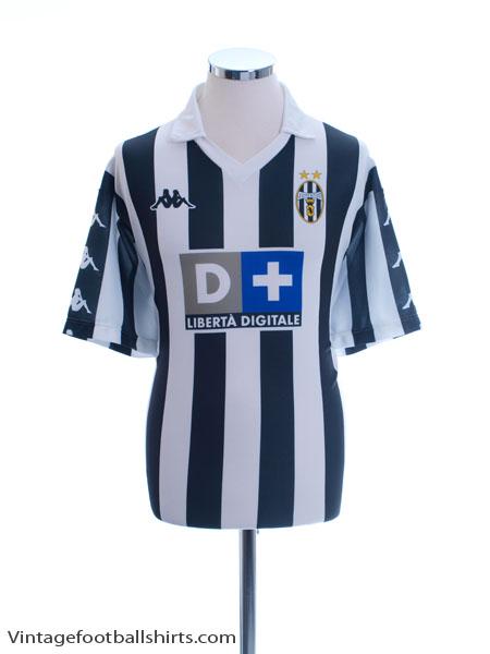 1999-00 Juventus Replica Home Shirt XL