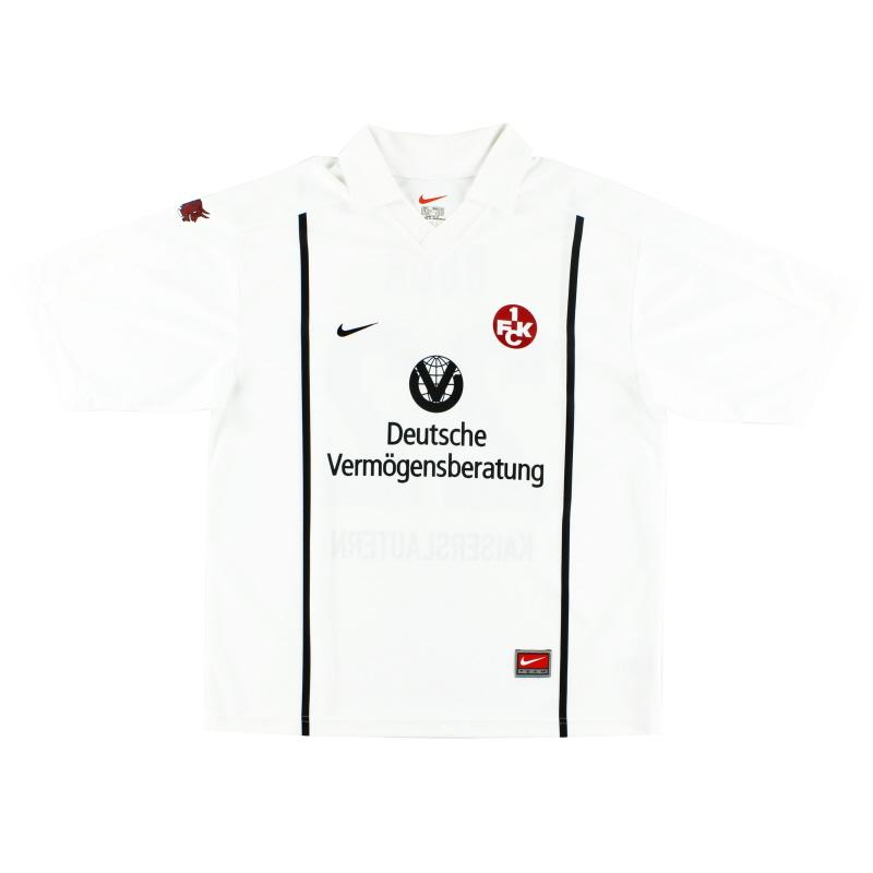 1999-00 Kaiserslautern Away Shirt L