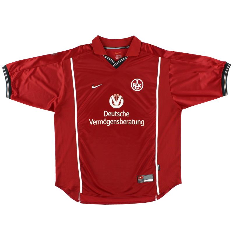 1999-00 Kaiserslautern Home Shirt XXL