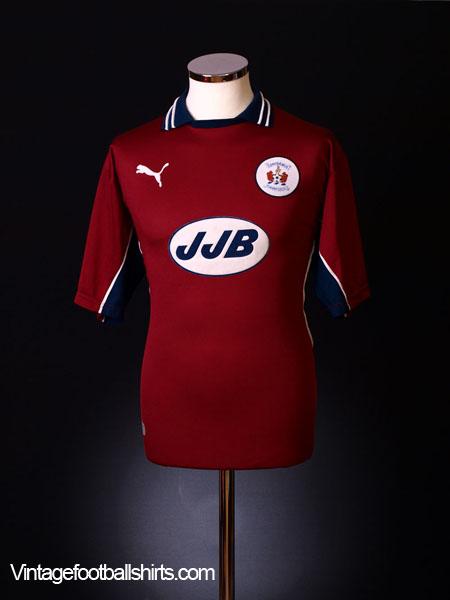 1999-00 Kilmarnock Away Shirt M