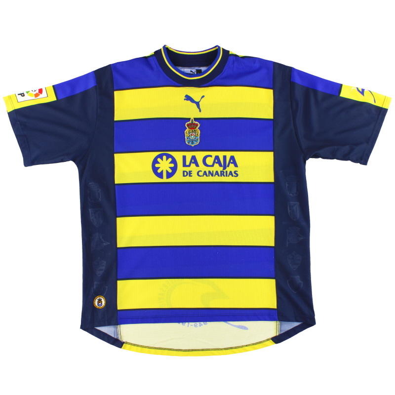1999-00 Las Palmas Puma '50th Anniversary' Away Shirt L
