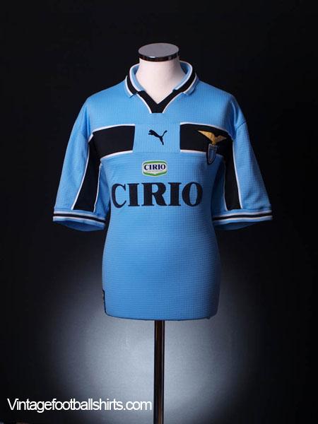 1999-00 Lazio Centenary Home Shirt XL