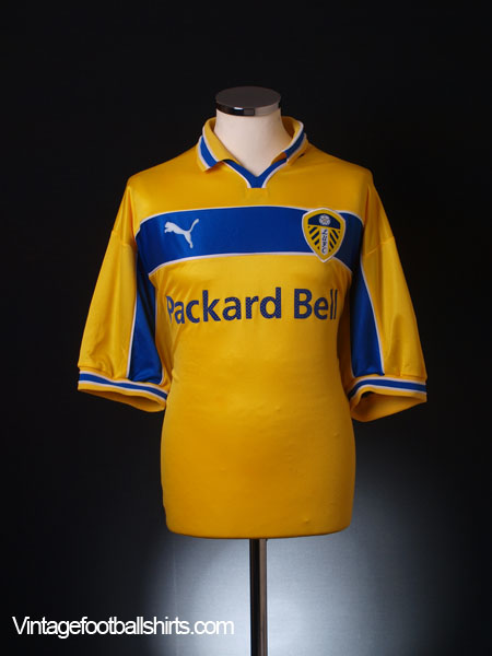 1999-00 Leeds Away Shirt *BNWT* XL