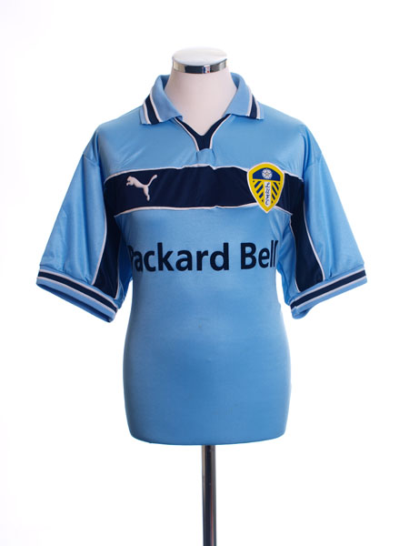 1999-00 Leeds Away Shirt M