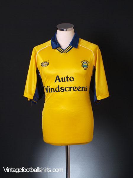1999-00 Linfield Away Shirt M