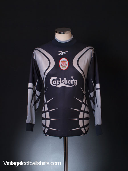 1999-00 Liverpool Goalkeeper Shirt Y