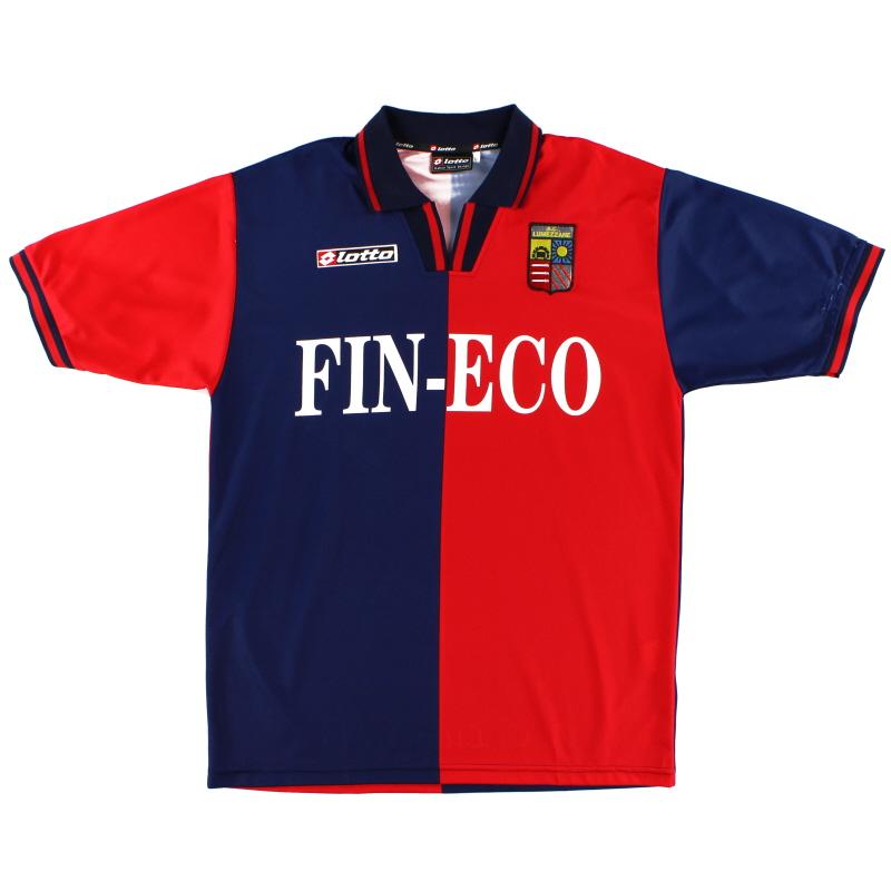 1999-00 Lumezzane Home Shirt XL