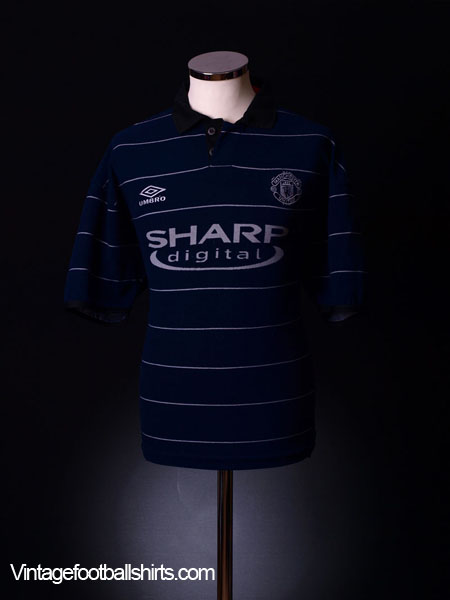 1999-00 Manchester United Away Shirt XL