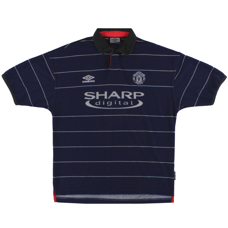 1999-00 Manchester United Umbro Away Shirt L - 735540