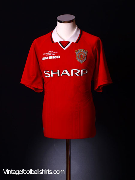 1999-00 Manchester United Champions League Winners Shirt XXL