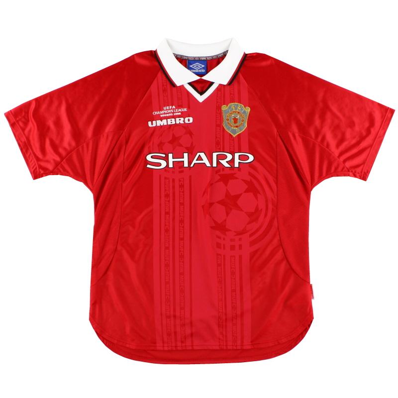 1999-00 Manchester United Umbro CL Winners Shirt XL - 735161