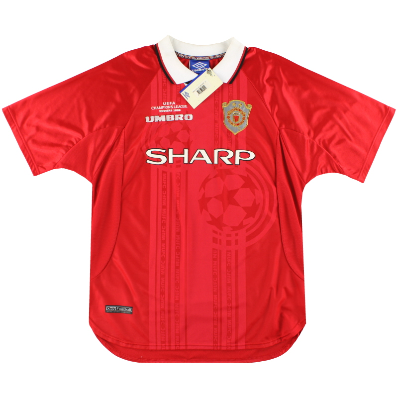 1999-00 Manchester United CL Winners Shirt *w/tags* XL - 735161
