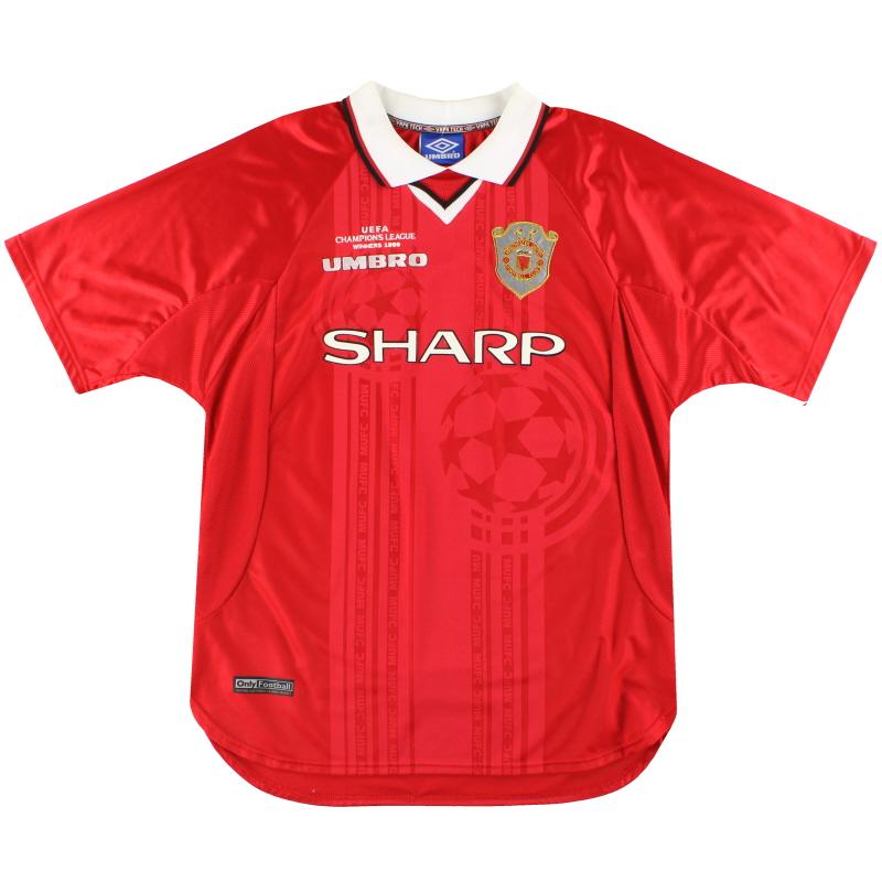 1999-00 Manchester United CL Winners Shirt L