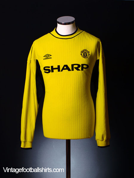 reputable site cf540 8152b 1999-00 Manchester United Goalkeeper Shirt XL for sale