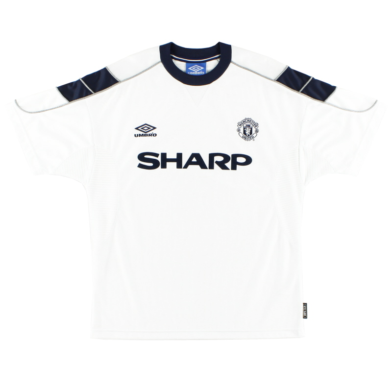 1999-00 Manchester United Third Shirt M.Boys