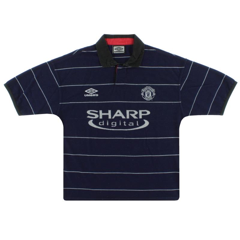 1999-00 Manchester United Umbro Away Shirt M.Boys - 735540