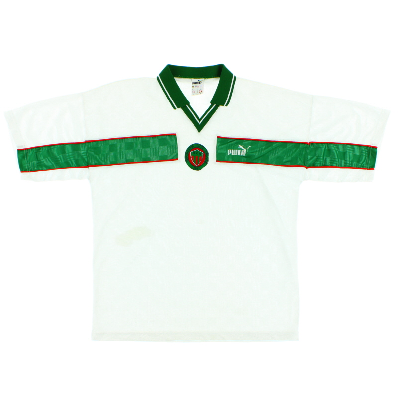 1999-00 MC Alger Away Shirt L