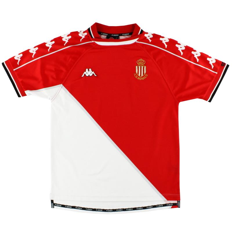 1999-00 Monaco Kappa Home Shirt M