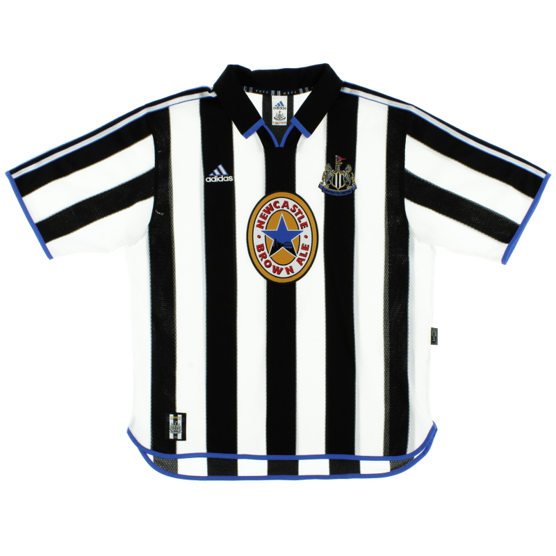 1999-00 Newcastle adidas Home Shirt L - 687204