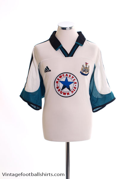 1999-00 Newcastle Away Shirt L