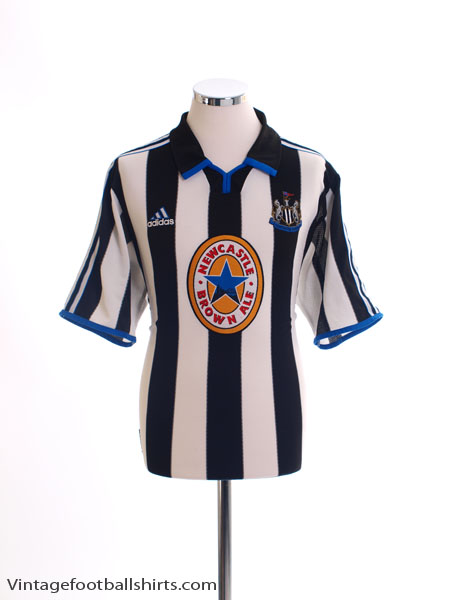 1999-00 Newcastle Home Shirt L