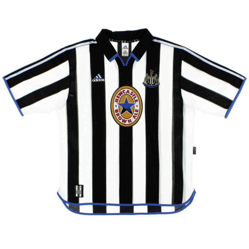 1999-00 Newcastle Home Shirt XL
