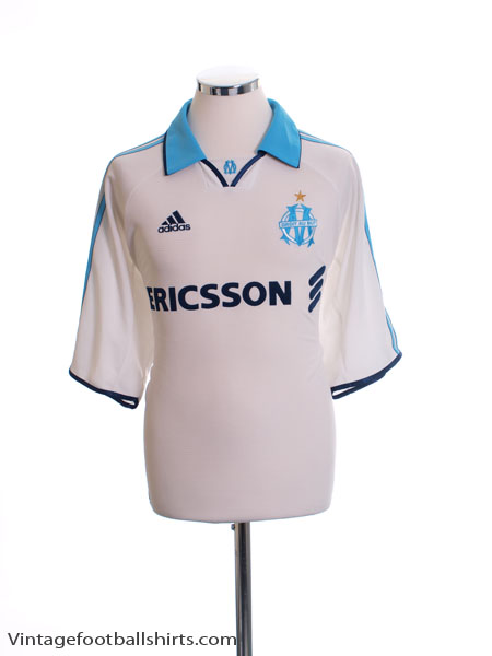 1999-00 Olympique Marseille Home Shirt *BNWT* L