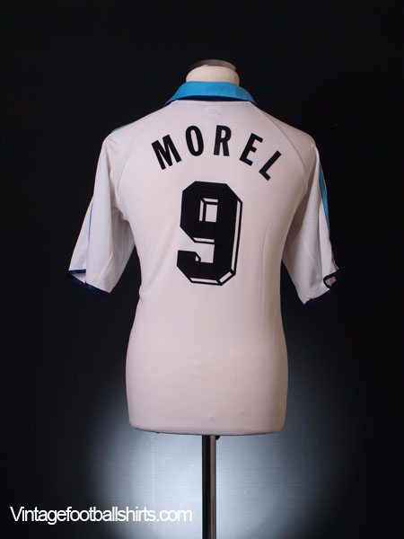1999-00 Olympique Marseille Home Shirt Morel #9 S