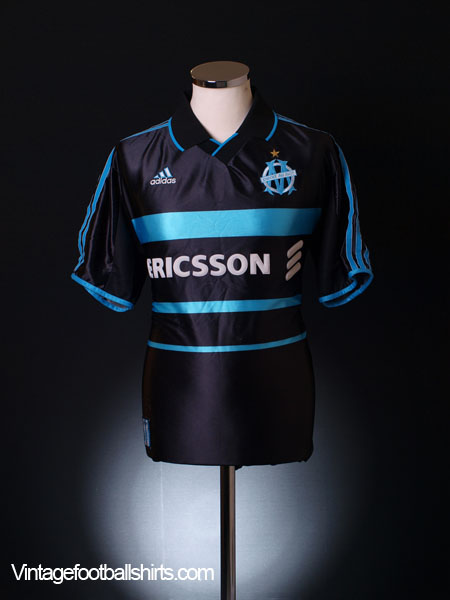 1999-00 Olympique Marseille Third Shirt XL