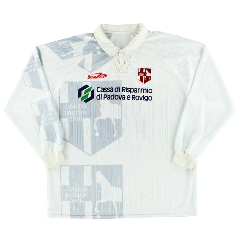 1999-00 Padova Home Shirt #10 L/S XL