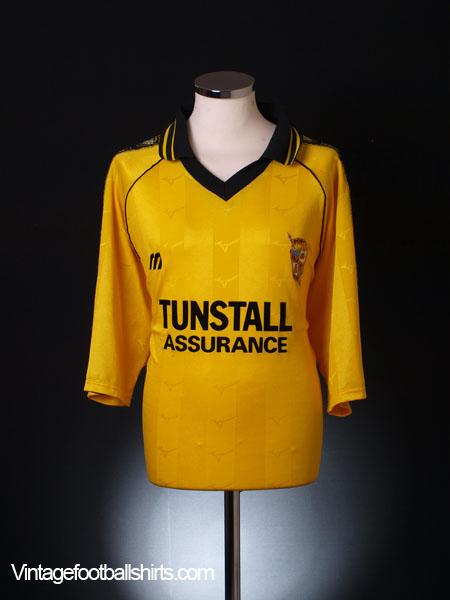 1999-00 Port Vale Away Shirt L