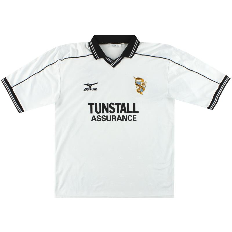 1999-00 Port Vale Mizuno Home Shirt XL