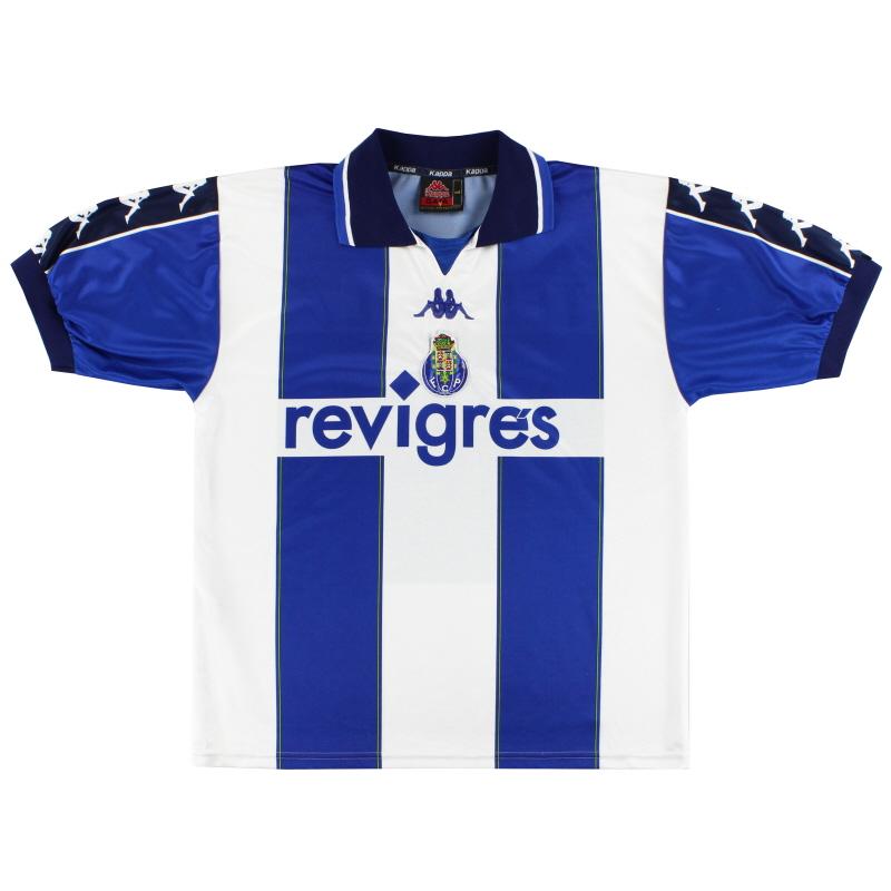 1999-00 Porto Kappa Home Shirt L