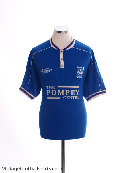 1999-00 Portsmouth Home Shirt S