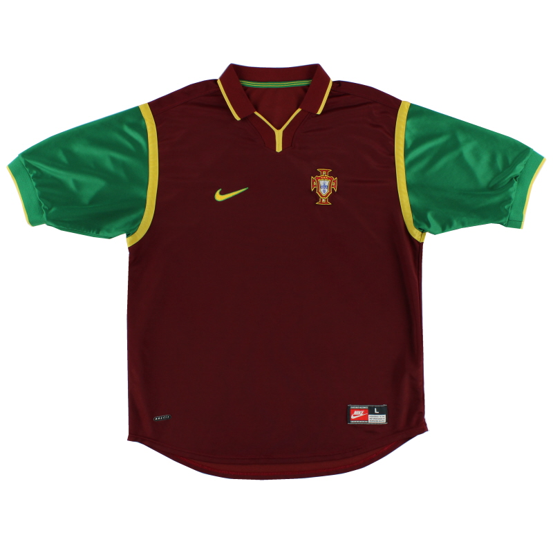1999-00 Portugal Home Shirt L