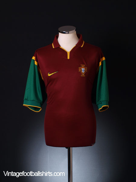1999-00 Portugal Home Shirt XL