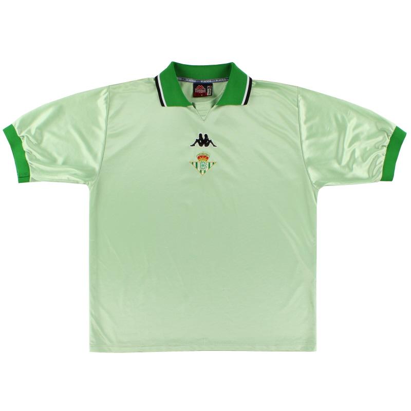 1999-00 Real Betis Away Shirt XL