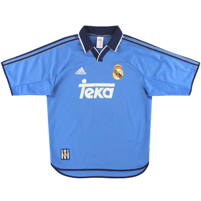 1999-00 Real Madrid adidas Third Shirt M - 627116