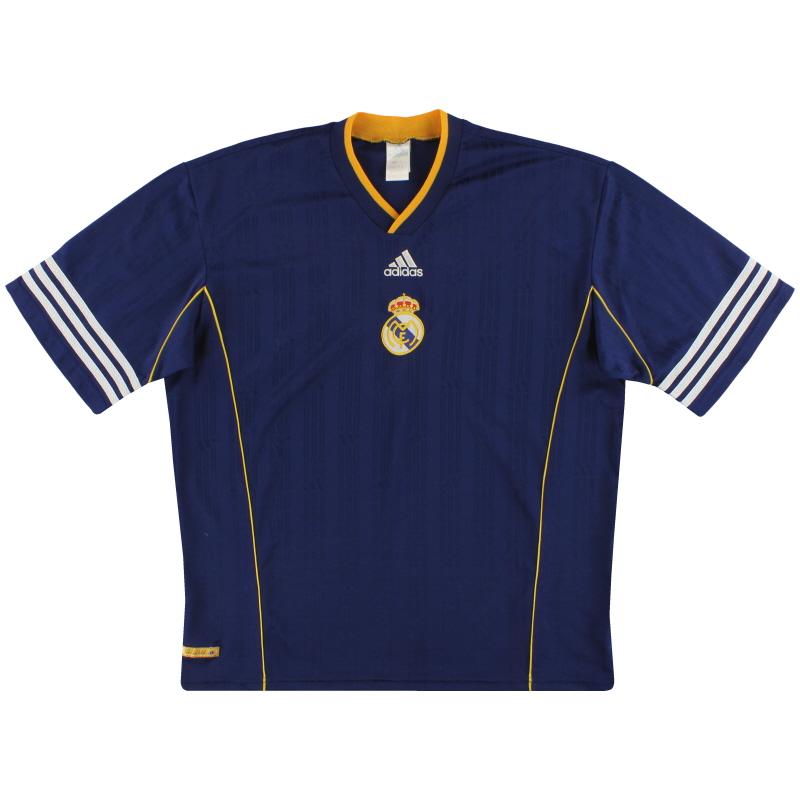 1999-00 Real Madrid adidas Training Shirt XL - 627119