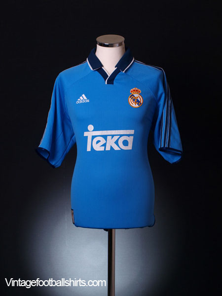 1999-00 Real Madrid Third Shirt XL