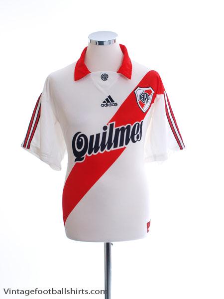 1999-00 River Plate Home Shirt L