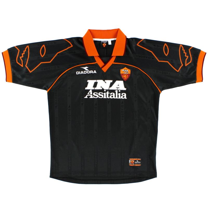1999-00 Roma Away Shirt L