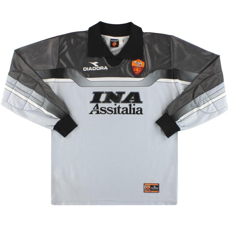 1999-00 Roma Diadora Goalkeeper Shirt M