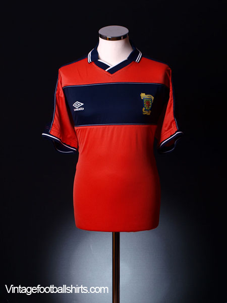1999-00 Scotland Away Shirt XXL